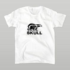 SUKLL(黒クマ)  Tシャツ