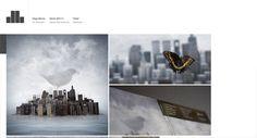 DB Works 25 Stunning Minimal Website Design For Your Inspiration Online Portfolio Design, Portfolio Site, Portfolio Website Examples, Minimal Website Design, Minimalist Web Design, Minimalist Style, Beau Site, Showcase Design, Photoshop Design