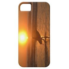Surfer in the Sunset Iphone 5 case