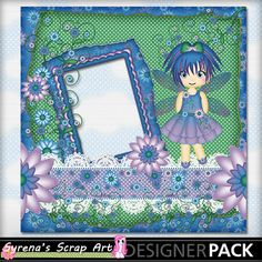 Fairy Myst Quick Page Digital #Scrapbooking http://www.mymemories.com/store/display_product_page?id=SESA-QP-1407-64166&r=syrenasscrapart