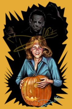 Hey, I found this really awesome Etsy listing at https://www.etsy.com/listing/169832897/halloween-michael-myers-laurie-strode