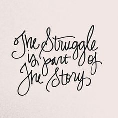 my journey is building my faith through each struggle i face
