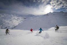 The local powder skiing (G. Lansard - Office de Tourisme Les Menuires)
