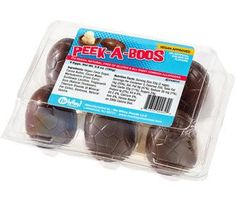 Peek-A-Boos Vegan Chocolate Veggs - Easter Candy