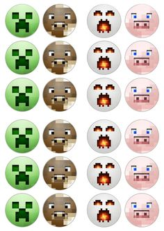 minecraft cupcakes ideas | Collection of the best Minecraft cake recipes and ideas