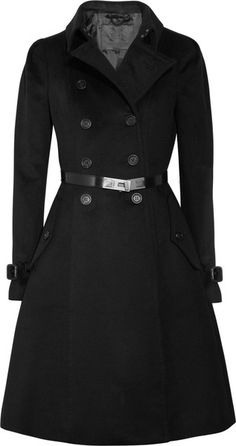 BURBERRY PRORSUM   Belted Wool and Cashmereblend Coat