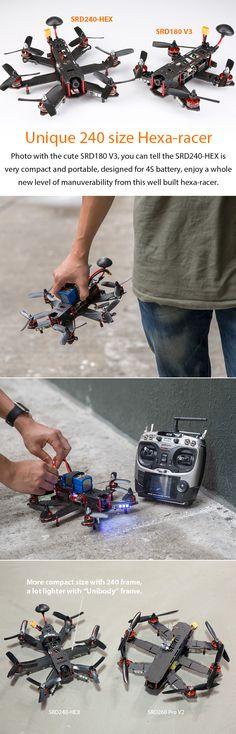 Storm Racing Drone (RTF / SRD240-HEX / CleanFlight)…