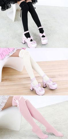 9dc790bc2a Winter Over The Knee Socks Sexy Warm Thigh High Long Knit Cotton Cute  Stockings