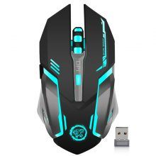 Hot Offer AZZOR Rechargeable Wireless Gaming Mouse Backlight Breath Comfort Gamer Mice for Computer Desktop Laptop NoteBook PC Gaming Computer, Desktop Computers, Laptop Computers, Computer Laptop, Computer Setup, Gaming Setup, E Sports, Pc Gamer, Macbook