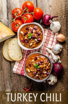 Turkey Chili - This hearty, high-protein dish is a winter staple. Click through to get the recipe! // healthy recipes // beans // quick // easy // lunches // dinners // meal prep // food ideas // eat clean // healthy eating // beachbody // beachbody blog