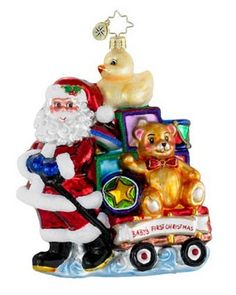 Image detail for -Christopher Radko Christopher Radko Showered with Toys Ornament