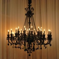 Griffin Trading's Black Murano Glass Chandelier featured on Dallas DECORUM « Griffin Trading Company