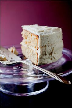 A recipe for Almond Birthday Cake with Sherry-Lemon Butter Cream.