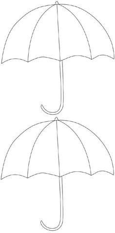 umbrella digi templates pinterest digital stamps applique