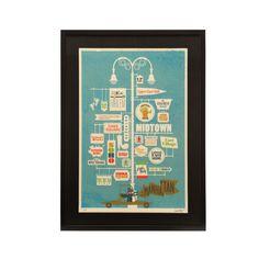 Print - Jim Datz - Manhattan - Sitting Room