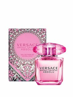 Versace Bright Crystal Absolu Women's Eau de Parfum Spray, Pink, Size Up To 1 Oz. Perfume Versace Bright Crystal, Versace Crystal Noir, Versace Pink, Perfumes Versace, Paco Rabanne Parfum, Boutique Parfum, Perfume Lady Million, House Of Versace, The Originals