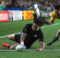 New Zealand All-Blacks beat Australia ,Ma a nonu try!