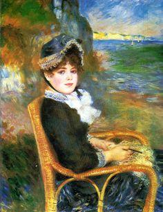 Auguste Renoir- Au bord de la mer 1883