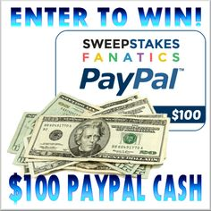 #GIVEAWAY Alert! Win $100 in PayPal Cash from Sweepstakes Fanatics! Ends 2/5 http://www.lifeofasouthernmom.com/win-100-paypal-cash-sweepstakes-fanatics-ends-25.html