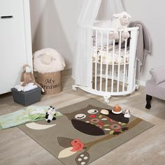 The Kids Line Collection by Arte Espina Sheep Rug, Baby Sheep, Contemporary Rugs, Modern Rugs, Childrens Rugs, Kids Line, Girls Bedroom, Bedrooms, Toddler Bed