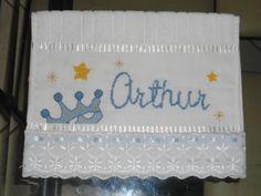 Toalha Ponto Cruz Arthur