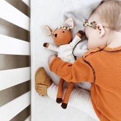 There's nothing better than a snuggly Saturday with Phoebe the Fawn  @TalitaConrad