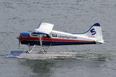 Saltspring Air C-FJFL De Havilland Canada DHC-2 Mk.1 898 CXH Coal Harbour Vancouver 2012