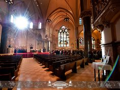 Church ceremony at Church of the Gesu, on Marquette's campus. Photo by: FRPhoto