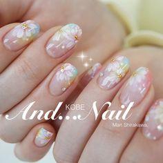 Spring 2017 Nail Art , Floral nails