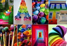 Rainbow Art - Artistic Globe