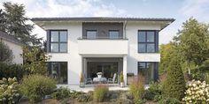 Stadthaus mit Gartenanlage Surface Habitable, Construction, Villa, Bungalow, Mansions, House Styles, Outdoor Decor, Home Decor, Home Plans