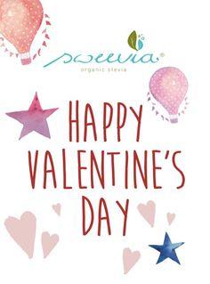 Am 14. Februar ist Valentine's Day ❤  In unserem Shop gibt es ab sofort die passenden Grußanhänger. #sweevia #stevia #zuckerfrei #love