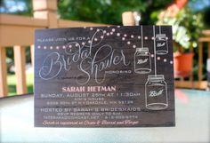 Printable Wedding Shower Invitation by KADdesignsforlove on Etsy, $17.50