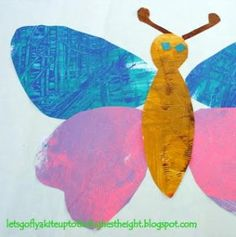 let's go fly a kite: Eric Carle Butterflies