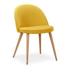 2pcs Round Chaise Coussin d/'Assise Jardin Pépinière cuisine decor jaune carreaux