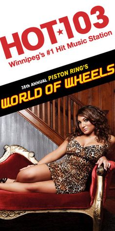 Repin this and you could win a pair of tickets to World of Wheels and see Deena from Jersey Shore on Saturday, March 17 from 12 - 4 pm.