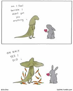 happy valentine's day - boom. happy valentine's day - Cute Funny Animals, Funny Cute, Hilarious, Cute Comics, Funny Comics, Liz Climo Comics, Rage Comic, Comic Manga, Wholesome Memes