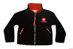 Swiss Fleece Jacket. Perfekt for the Olympia Days