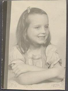 Vintage Photo Cute Girl Photobooth Portrait 552021 | eBay