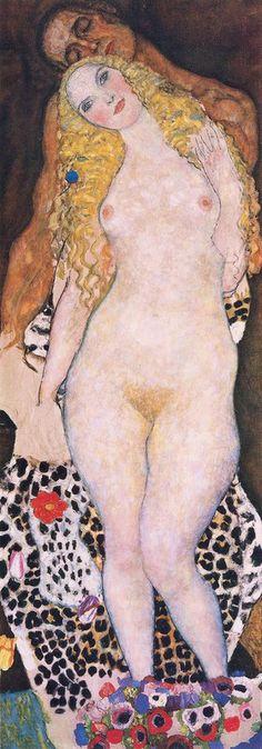 Gustav Klimt: Adam und Eva. 1917/18