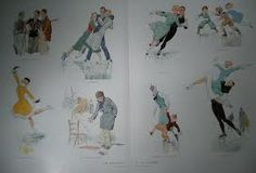 mode 1935 - schaatskleding