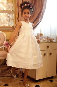 Rochita Bride Foam - Hey Princess Rochita din spuma de organza alba cu  volum 39863d159b5d