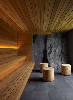 At The Retreat Hotel at the Blue Lagoon, the spa experience goes beyond the ordinary. Read on to see what happens at The Ritual, a three-step treatment you can't find anywhere else in the world. Sauna Steam Room, Sauna Room, Saunas, Jacuzzi, Pool Table Room, Sauna Design, Outdoor Sauna, Interior Design Images, Spa Rooms