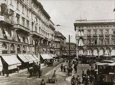 Milan City, Retro, Past, Street View, Black And White, Vintage, Google, Belle, Italia
