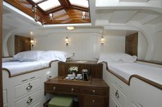 Easily handled long keel yacht built using modern timber construction techniques — Fairlie Yachts Sailboat Interior, Yacht Interior, Interior Design, Small Yachts, Sailboat Living, Small Sailboats, Boat Decor, Classic Yachts, Boat Building Plans