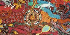 Australia Photos Aboriginal Dreamtime, Aboriginal Artists, Australia Photos, Abstract Canvas, Rug Hooking, Art Google, Artist At Work, Art History, Arts And Crafts