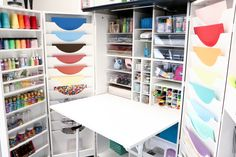 Her HobbyBox: All your craft supplies in one convenient cabinet!