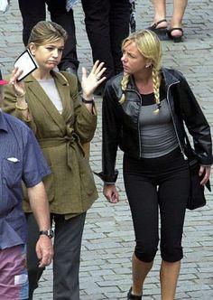 Nederlandse verslaggeefster herkent Maxima in Praag en begint een gesprek met haar, toen nog onbekende vriendin van Willem-Alexander