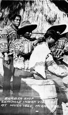 seminole men at musa isla 2 by windonthewater, via Flickr
