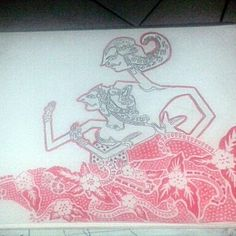 #Wayang & #Batik #Indonesia